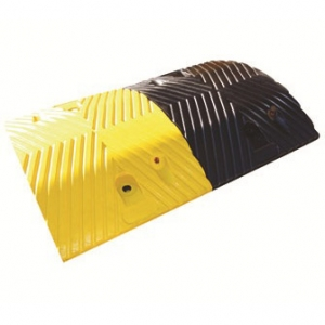 Premium Modular Rubber Speed Bump - Middle Component